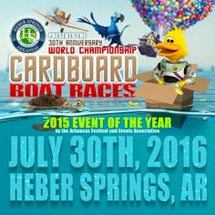World Championship Cardboard Boat Races | Heber Springs Chamber of Commerce