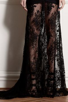 For the love of black lace.