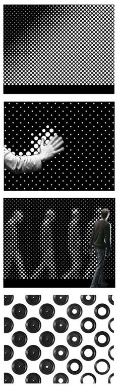 Designed by Berlin interactive artists Gunnar Green and Frederic Eyl, Aperture includes dozens of tiny aperture holes that (with a slight delay) open if there is no light and closes if there is. The result is the silhouette of passersby. It is a facade installation with interactive and narrative displaying modes. Consisting of an iris diaphragm matrix, the facade's surface with its apertures' variable opening diameters is enriched by a dynamic translucency, that creates new imagery as well…