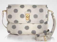 Marc by Marc Jacobs Embossed Lizzie Dots Crossbody