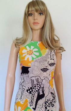 Vintage 1960's MOD PoP Op ArT PsYcHeDeLiC by ElectricLadyland1