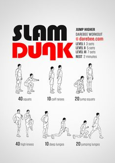 Slam Dunk Workout