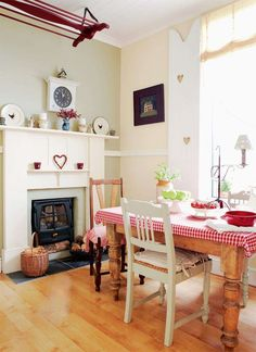 Restoring a three bedroom Edwardian house, Helen and Martin Ephgrave repaired original features and transformed their home with a Shaker style and soft-colour palette
