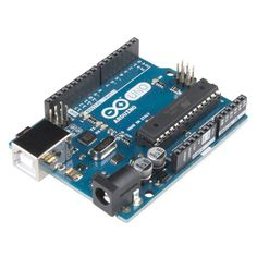 Meet the board that started the revolution! The Arduino UNO R3 is the latest version of what is quite possibly the world's most popular microcontroller. The UNO R3 is a great board for beginners becau