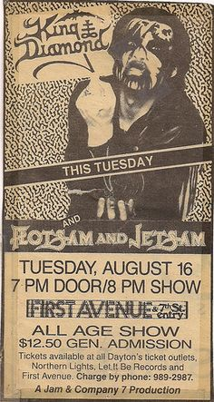 King Diamond, Flotsam And Jetsam