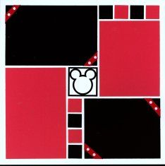 scrapbooking layout mages | This cute set of Disney Scrapbooking Layouts was from a Page Kit set ...