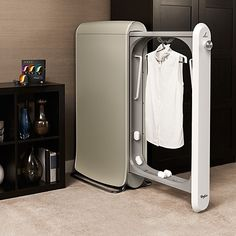 Reduce your dry cleaning bills to half the amount with this innovative SWASH Express Clothing Care System.