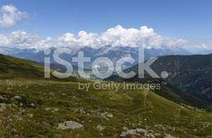 Das Tiroler Inntal royalty-free stock photo