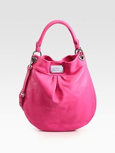 Marc by Marc Jacobs  Classic Q Hillier Hobo  (pink)