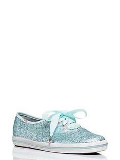 keds for kate spade new york glitter sneakers $80.00
