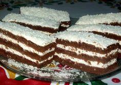 Hungarian Recipes, Hungarian Food, Coco, Sweet Recipes, Tiramisu, Fondant, Food And Drink, Sweets, Baking