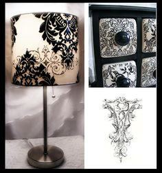 French Paris Black and White Decor
