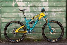 Yeti (via Ned, Tinker, Tomac & Friends) Mtb Bike, Bmx Bicycle, Yeti Mtb, Yeti Cycles, Road Bikes, Bike Life, Rocky Mountains, Mountain Biking, Cycling