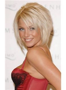 Nice Fashion Layered Bob Hairstyle Capless Wig Synthetic Hair 10 Inches. Get unbelievable discounts up to 75% Off at Wigsbuy using Coupons & Promo Codes.