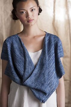 Ravelry: Twist Pullover pattern by Cecily Glowik MacDonald- wear it twisted & untwisted.
