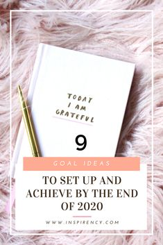 Tired of setting some #idealistic #goals, that you know you'll start - or never start actually - and never achieve? I feel you, trust me. So here's 9 goal ideas for you to set up, that can be achieved with only a tiny bit of will. From #journaling or #fitness to #lifestyle habits, I'm sure you'll find one goal for #2020 that will suit you. See the full #review on inspirency.com