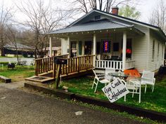 The Gap Creek Coffee House in scenic Cumberland Gap! A small business locally owned by Joe Wolfenbarger is the hotspot for the tri-state area and Cumberland Gap National Historical Park adjacent. Check out the Facebook page!