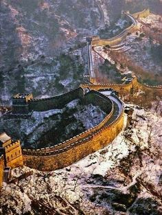 Places To Visit - Great Wall of China