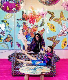 An Exclusive Interview with Entrepreneur and Artist Ashley Longshore - Carrie Colbert Butterfly Art, Butterflies, Artists And Models, Ceramic Wall Art, Unique Wall Art, Art Inspo, New Art, Amazing Art, Original Artwork