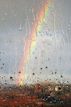 There's always a rainbow after the storm.