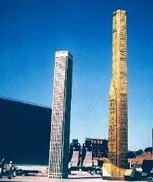"""""""The Towering Inferno"""" (1974) building"""