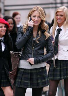 Blake Lively Gossip Girl style