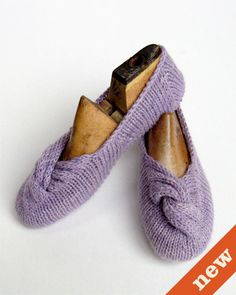 CocoKnits Knotted Slippers Knitting Patterns