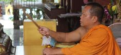 Monks in Koh Samui Temples offer blessings called Sai Sin. After your blessing the monk will tie string around your wrist as a sign of good luck. http://www.welovekohsamui.com/monks-blessings-koh-samui/
