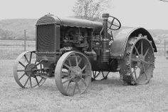 McCormick Deering Tractor by Cooks Forest, via Flickr