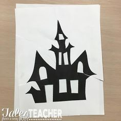 Halloween Art Project and Writing Piece