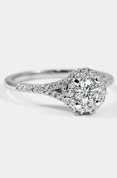 18K White Gold Circa Diamond Ring