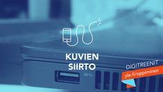 Digitreenit: Näin siirrät kuvat puhelimesta tietokoneeseen | Digitreenit | yle.fi Usb