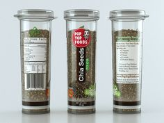 chia seeds packaging - Google Search