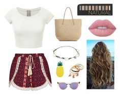 A fashion look from June 2016 featuring white short sleeve shirt, relaxed fit shorts and handbags totes. Browse and shop related looks. Lipsy, Lime Crime, Miss Selfridge, Fendi, Target, Forever 21, Shoe Bag, Polyvore, Accessories