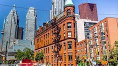 A page from the past but now the best area to live in St Lawrence Market, Exposed Concrete, Condos, Stress Free, Ceilings, Toronto, The Past, Multi Story Building, Corner