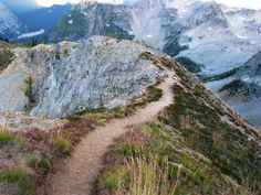 Traverse a ridgeline among craggy peaks and fragile alpine meadows. Photo by WTA.