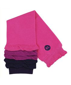 Love this Hot Pink & Purple Ruffle Leg Warmers by Baby Legs on #zulily! #zulilyfinds