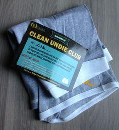 Clean Undie Club Review - Men's Underwear Subscription