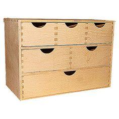 Schubladenelement (20 x 40 x 28 cm, 6 Schubladen)