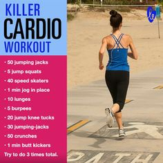 Kill cardio #workout :) Who's in?