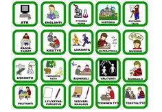 pienet kortit kouluun Finnish Grammar, Finnish Language, Beginning Of The School Year, Back To School, Learn Finnish, Teaching Vocabulary, Classroom Inspiration, Early Childhood Education, Primary School