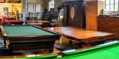 Antique Snooker Tables, Billiards and Antique Furniture.