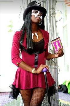 fem! Dr. Facilier (Princess and the Frog) #cosplay
