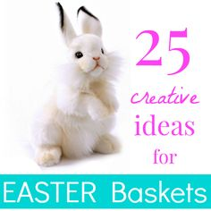 25 Creative Ideas for Easter Baskets for Kids - No Candy