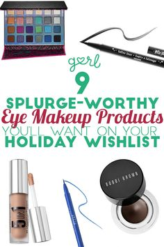 9 Splurge Worthy Eye Makeup Products You'll Want On Your Holiday Wish List