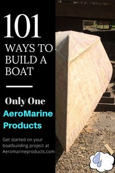 Stitch & Glue? Clinker? Lapstrake? There's countless methods and techniques that are used to build a boat. There's only one AeroMarine Products - specialists in Marine Grade Epoxy Products. Call us today to see how we can make building your wooden boat easier.