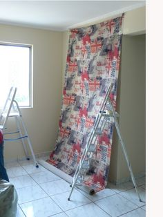 Ladder Decor, Design, Home Decor, Decorative Ladders, Couch Slipcover, Tejidos, Decorating Ideas, Decorate Walls, Appliques