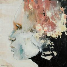 Kai Fine Art is an art website, shows painting and illustration works all over the world. Watercolor Portraits, Illustration, Fine Art, Creative, Face, Artwork, Painting, Inspirational, Frames