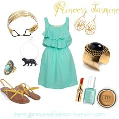 Disney Fashion Princess Jasmine style