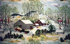 Early Springtime by Grandma Moses